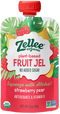 Zellee Organic Fruit Gel with Vitamin C Strawberry Pear 3.5 oz