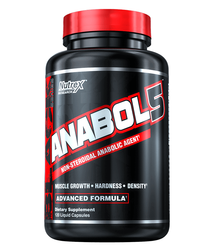 Nutrex Research Anabol 5 Advanced Formula 120 Liquid Capsules