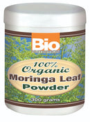 Bio Nutrition 100% Organic Moringa Leaf Powder 300 g