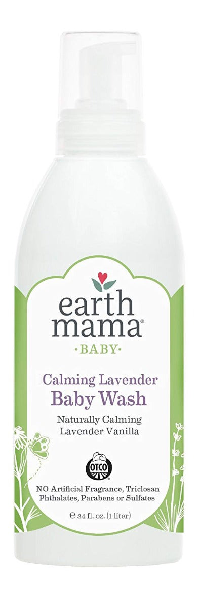 Earth Mama Calming Lavender Body Wash 34 fl oz