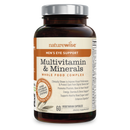 Naturewise Mens Multivitamin & Mineral With Eye Support 60 Capsules