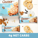 Quest Nutrition QuestBar Protein Bar Vanilla Almond Crunch 12 Bars