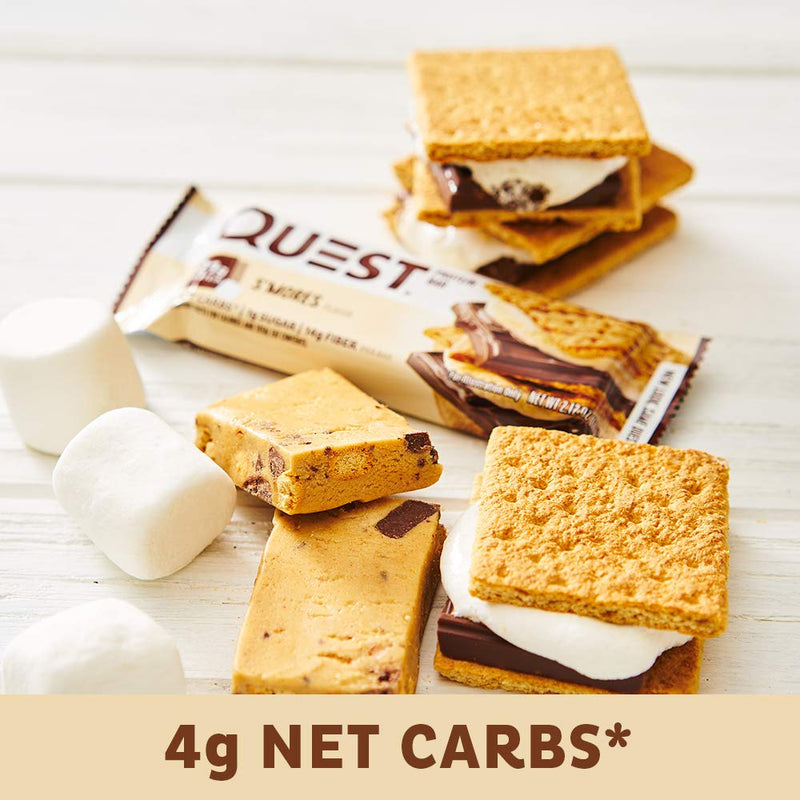 Quest Nutrition QuestBar Protein Bar Smores 12 Bars