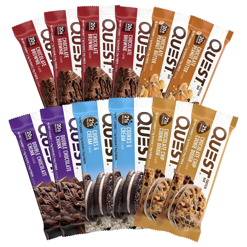 Quest Nutrition Protein Bar Variety Pack C 12 Bars