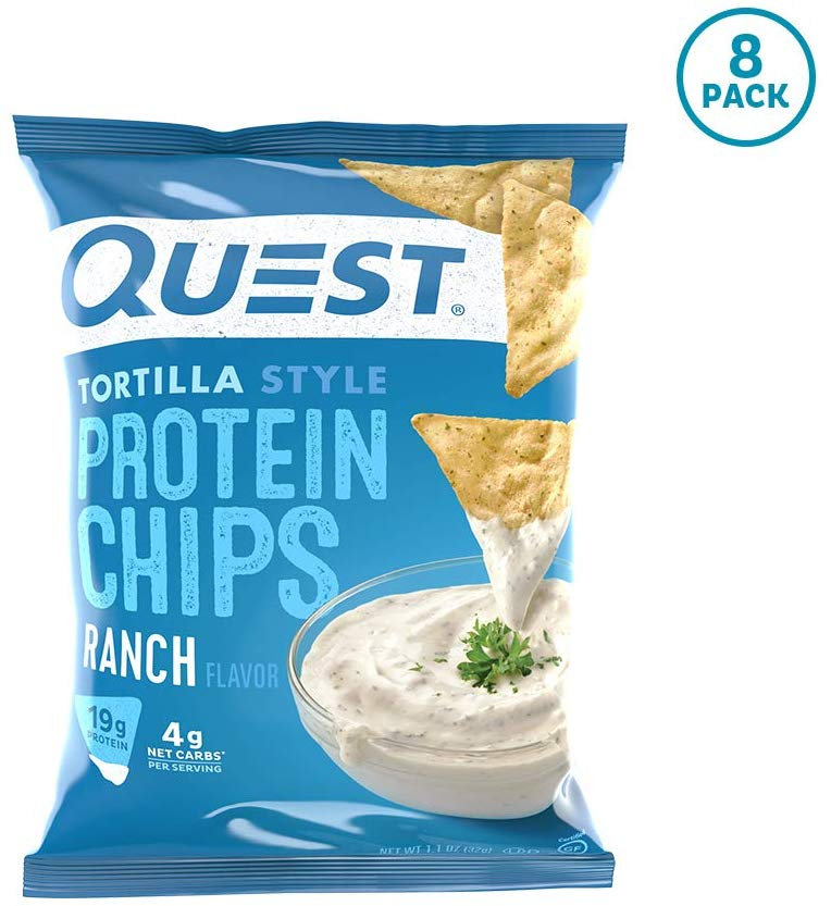 Quest Nutrition Tortilla Style Protein Chips Ranch (8 Pack)