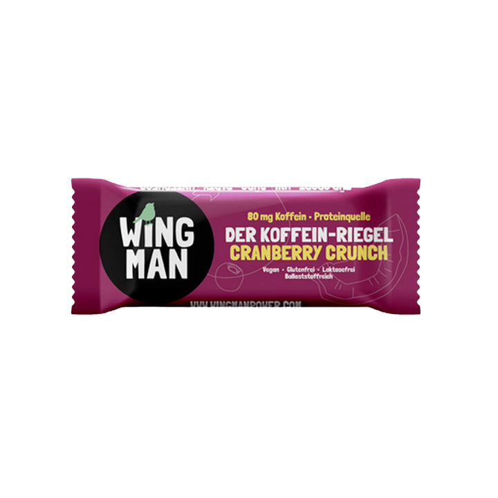 Koffein-Riegel Cranberry Crunch - 1 x 40g
