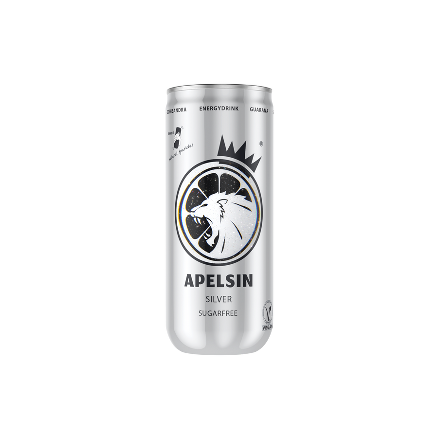 Apelsin Silver Sugarfree - 1 x 250ml