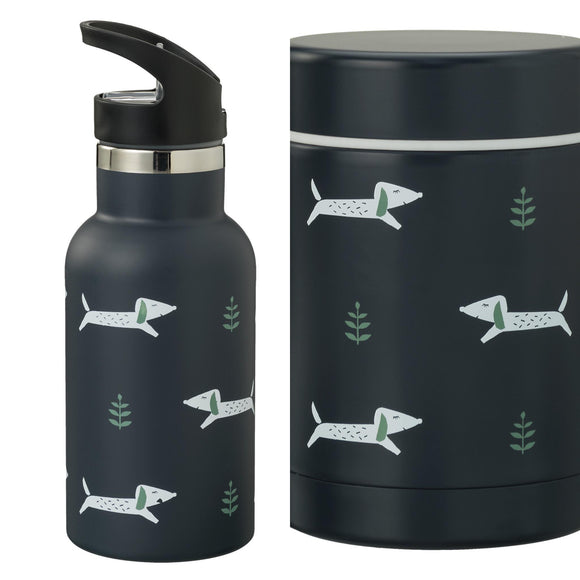 VOORDEELPAKKET thermos bottle and food jar Dachsy