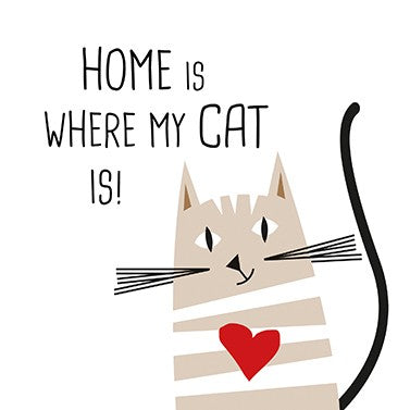 Home is where my cat is servet