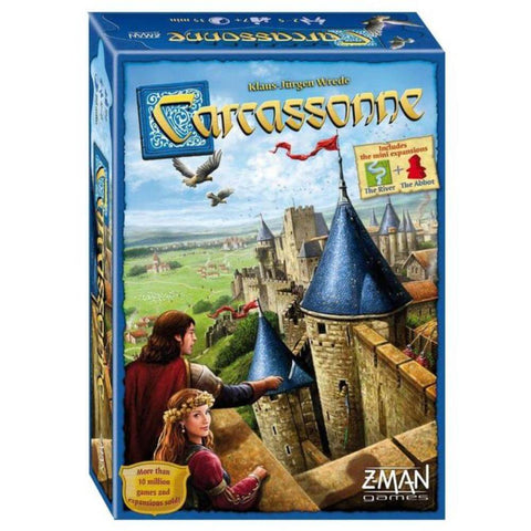10 Best Easy to Play Strategy Games - Carcassone