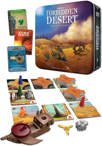 10 Best Easy to Play Strategy Games - Forbidden Desert