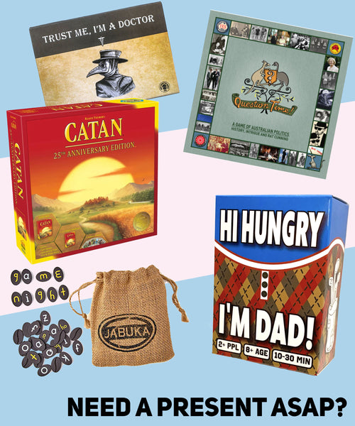 Family games - need a present ASAP?