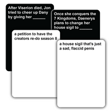 Load image into Gallery viewer, Cards of Ice and Fire - Adult Party Game