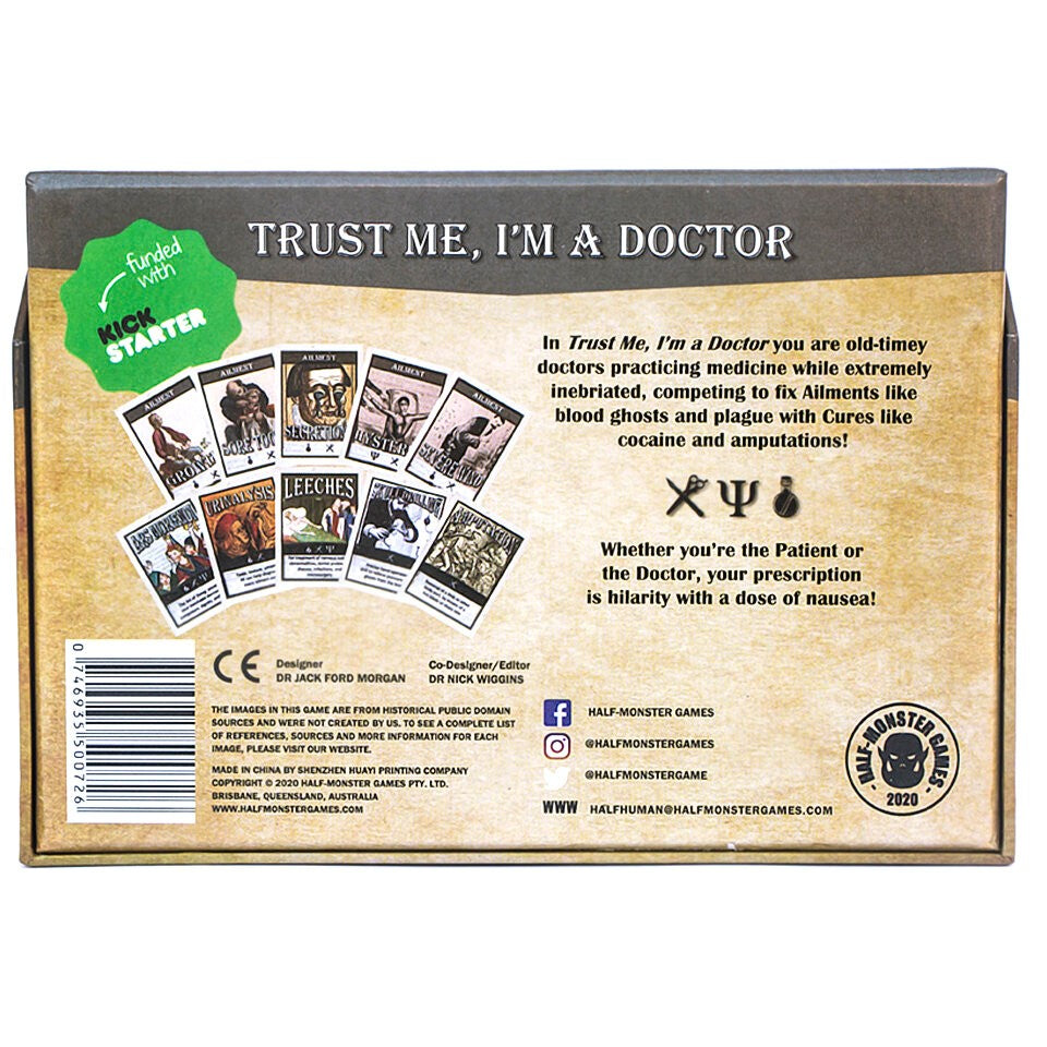 Trust Me I'm A Doctor - Family Party Game