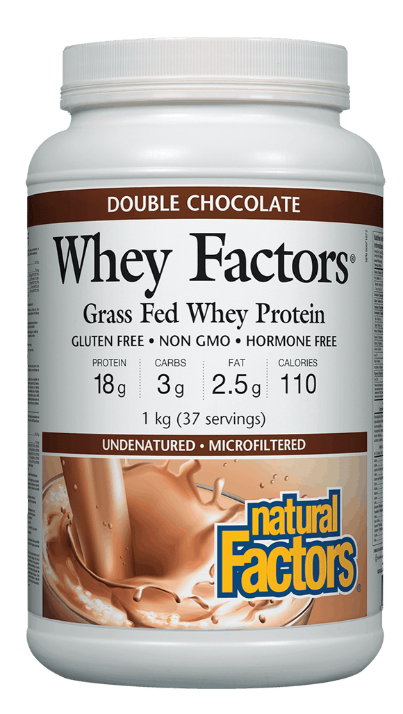Natural Factors Whey Factors Chocolate 1kg