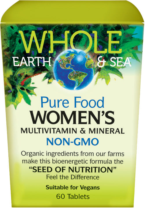 Whole Earth & Sea Women Multivitamin 60 Capsules