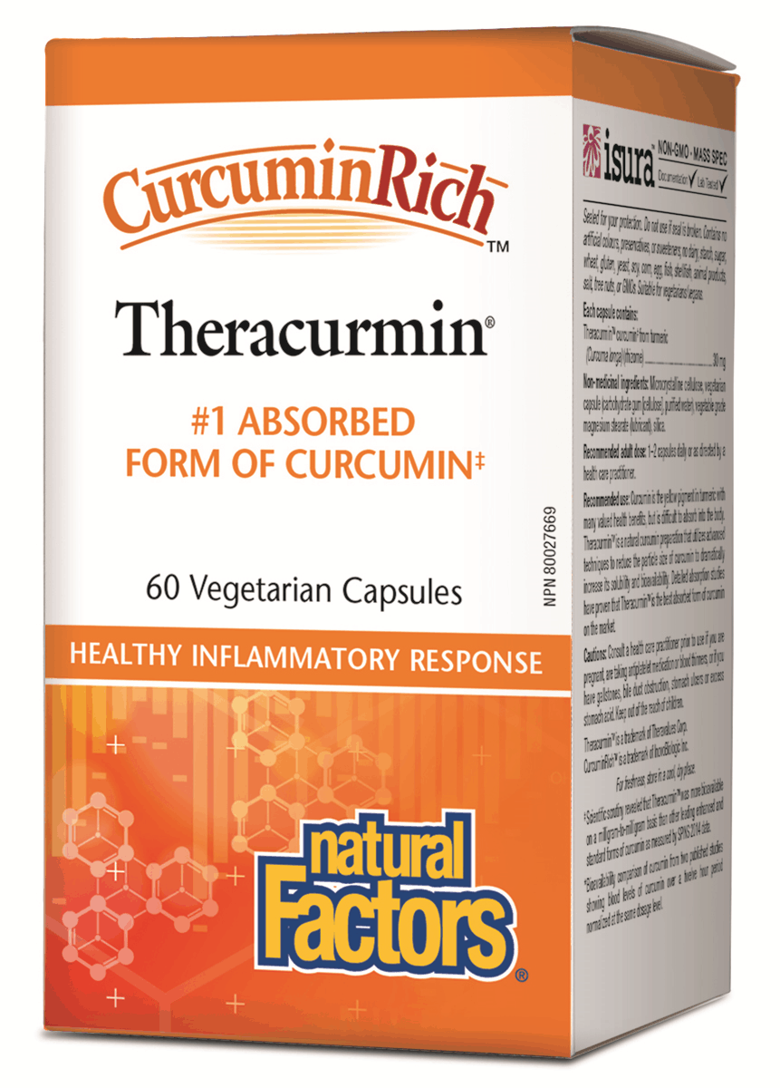 Natural Factors Theracurmin 60 Capsules