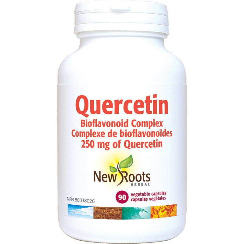 New Roots Quercetin 600mg 90 Capsules