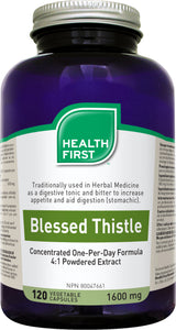 Health First Blessed Thistle 1600mg 120 Capsules