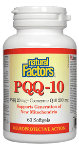 Natural Factors PQQ 10 200mg 60