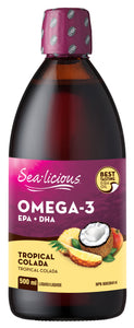 Sealicious Omega 3 Tropical Colada 500ml