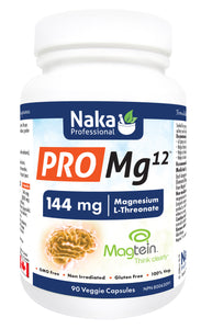 Naka Pro Mg12 Threonate 144mg 90 Capsules
