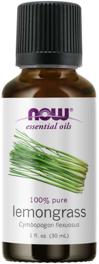 NOW Lemongrass Essential Oil 30ml