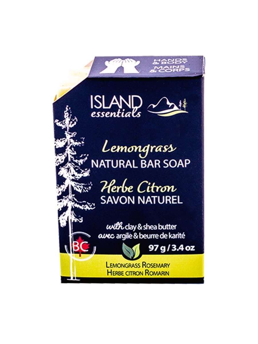 Island Essentials Lemongrass Bar Soap 97g