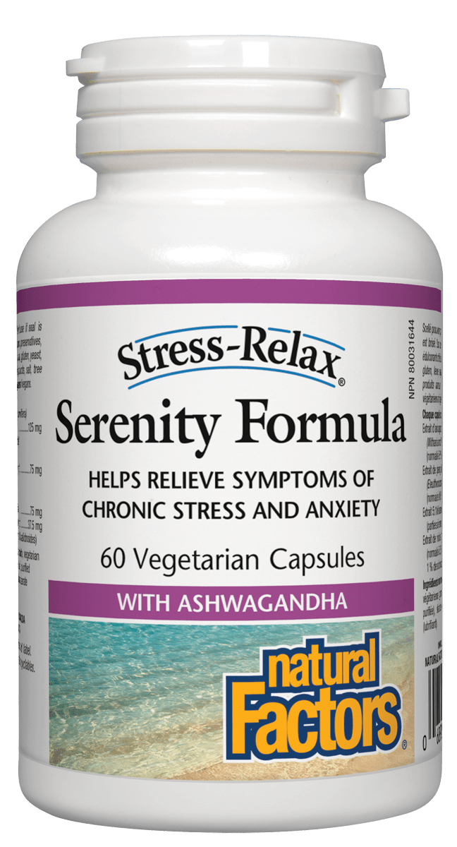 Nautral Factors  Serenity Formula 60 Capsules