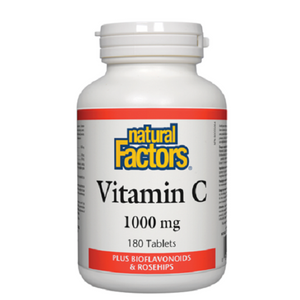 Natural Factors Vitamin C 1000mg 180 Tablets