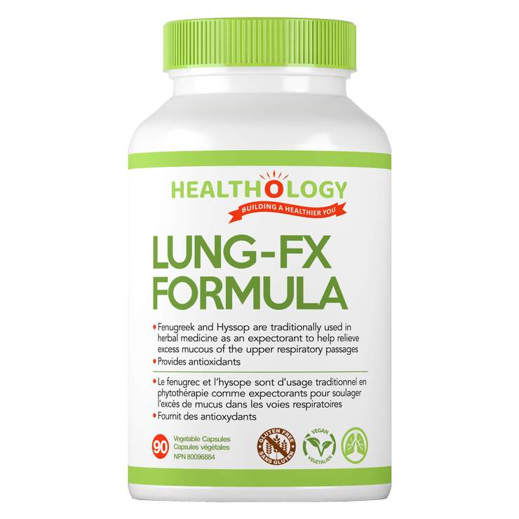 Healthology Lung FX Formula 90'caps