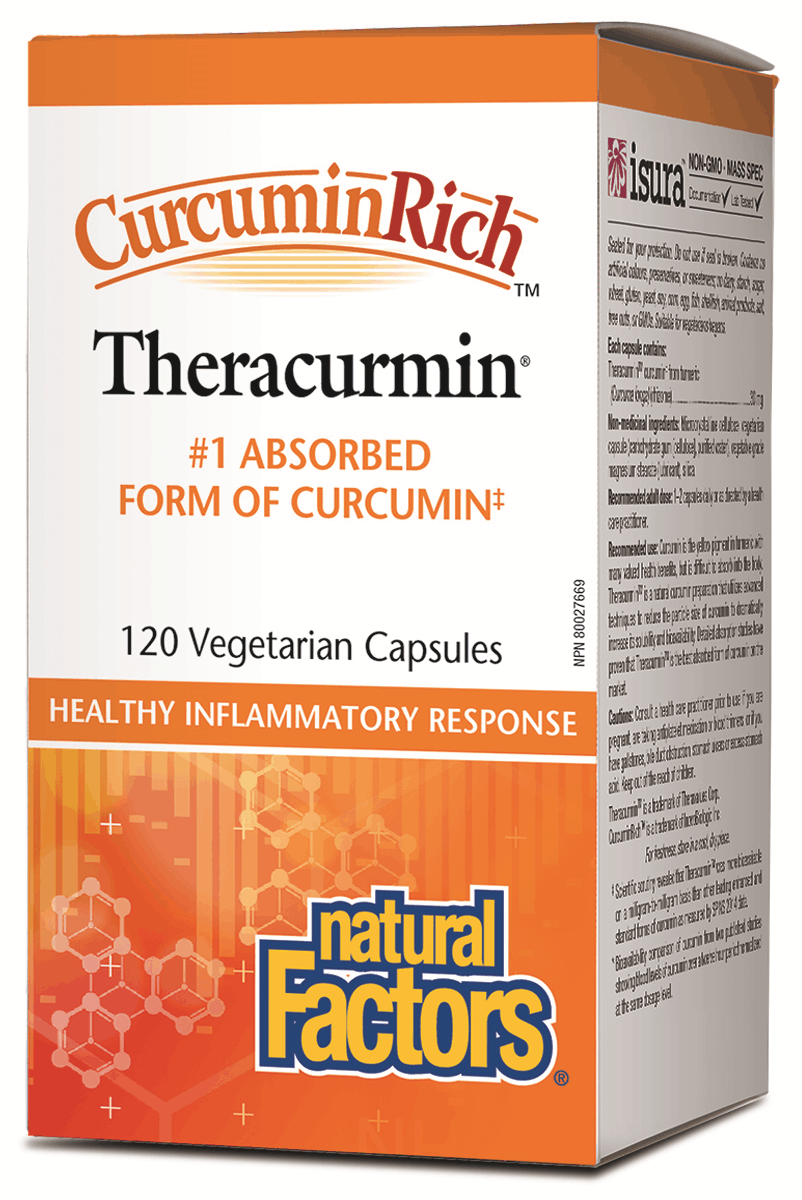 Natural Factors Theracurmin 120 Capsules
