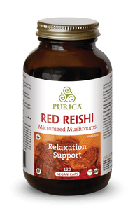 Purica Red Reishi 120 Capsules