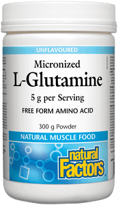 Natural Factors L Glutamine Powder 300g