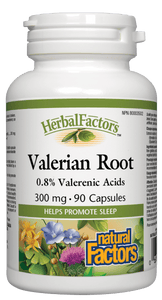 Natural Factors Valerian Root 300mg 90 Capsules
