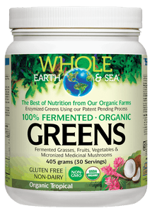 Whole Earth & Sea Greens Organic Tropical 405g
