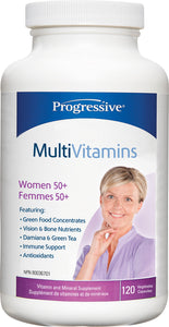 Progressive Multi Women 50+ 120 Capsules