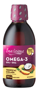 Sealicious Omega 3 Tropical Colada 250ml