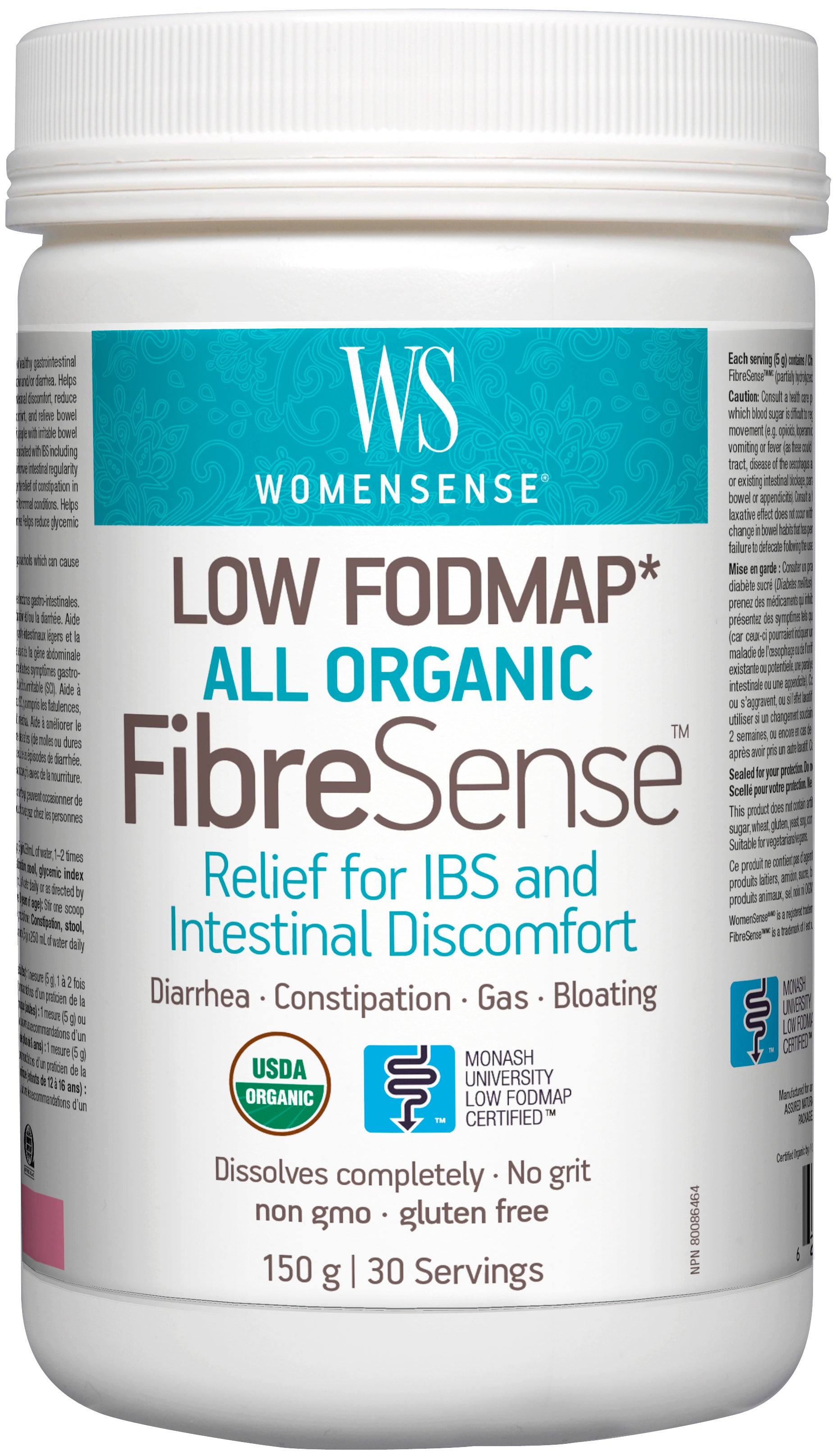 FibroSense Low FODMAP 150g