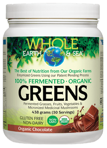 Whole Earth & Sea Greens Organic Chocolate 438g