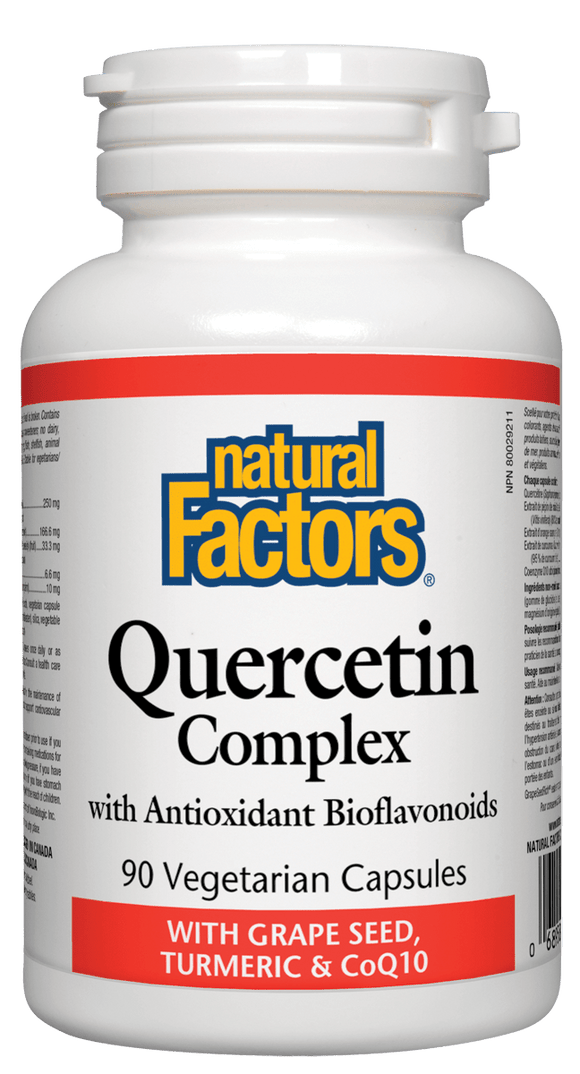 Natural Factors Quercetin Complex 90 Capsules