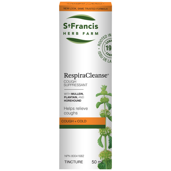 St Francis RespiraCleanse 50ml