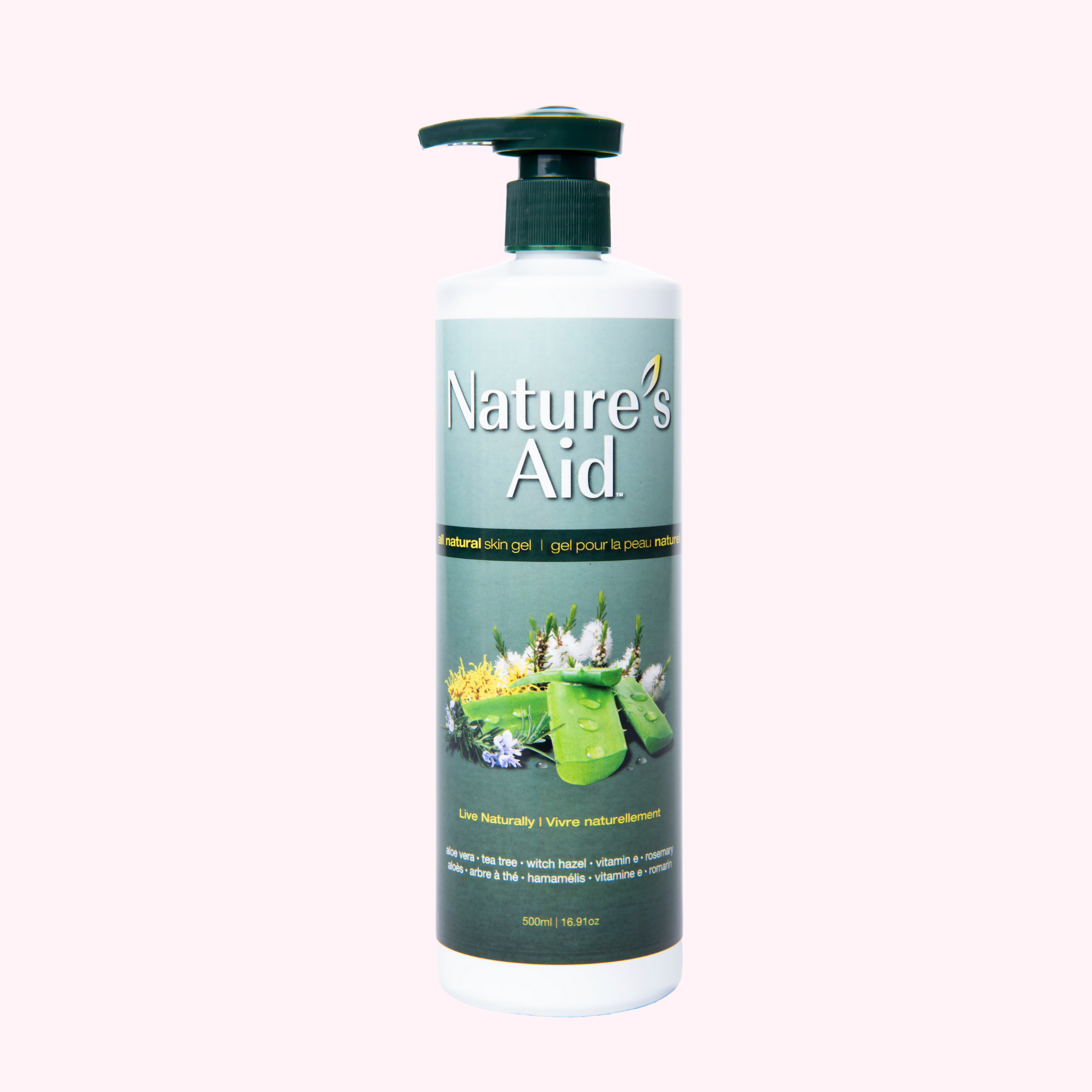 Natures Aid Gel 500ml