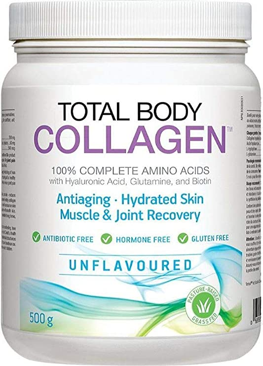 Natural Factors Total Body Collagen 500g Unflavoured