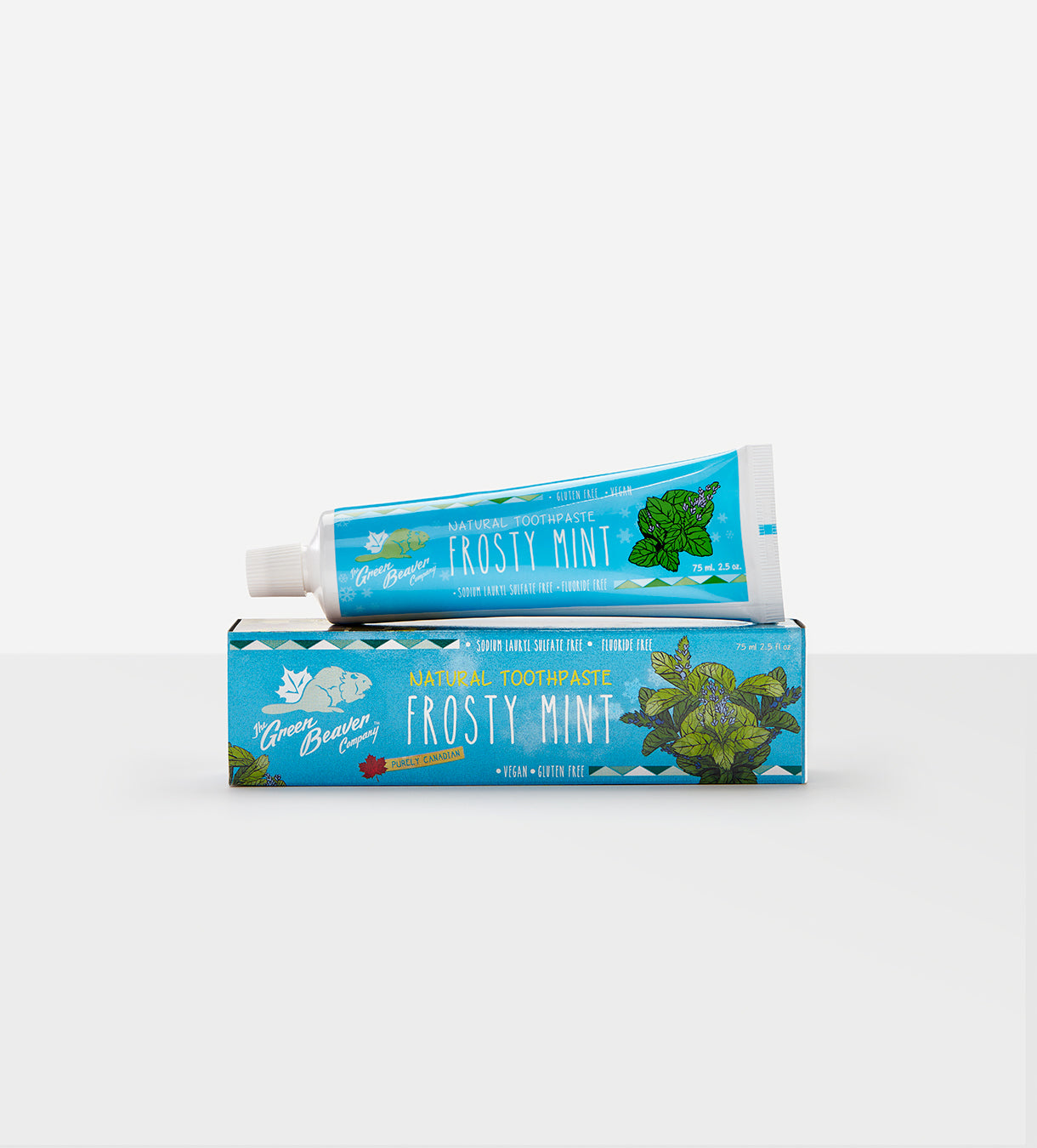 Green Beaver Frosty Mint Toothpaste 75ml