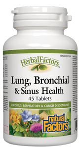 Natural Factors Lung Bronchial & Sinus 45