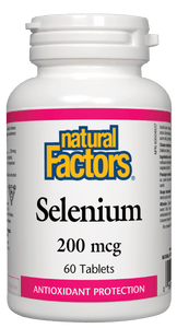 Natural Factors Selenium 200mcg 90 Tablets