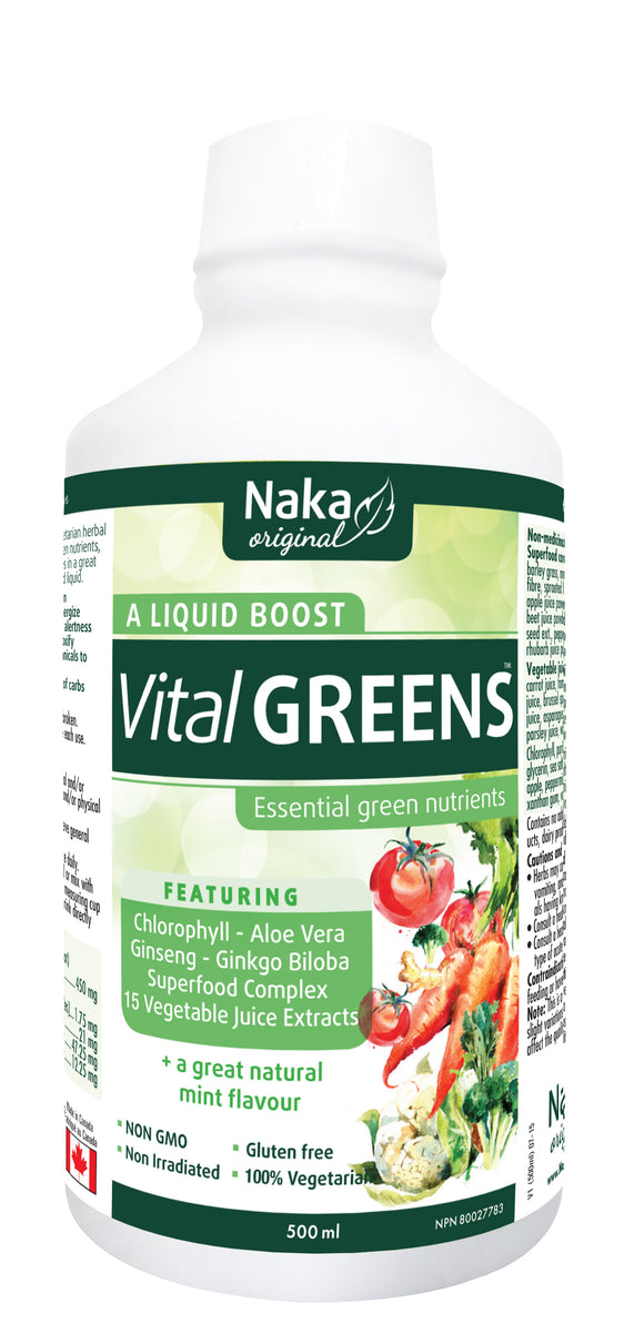 Naka Vital Greens 500ml