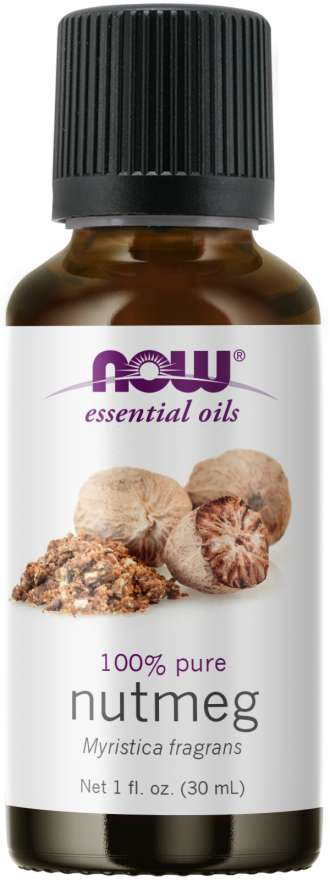 NOW Nutmeg Essential Oil 30ml