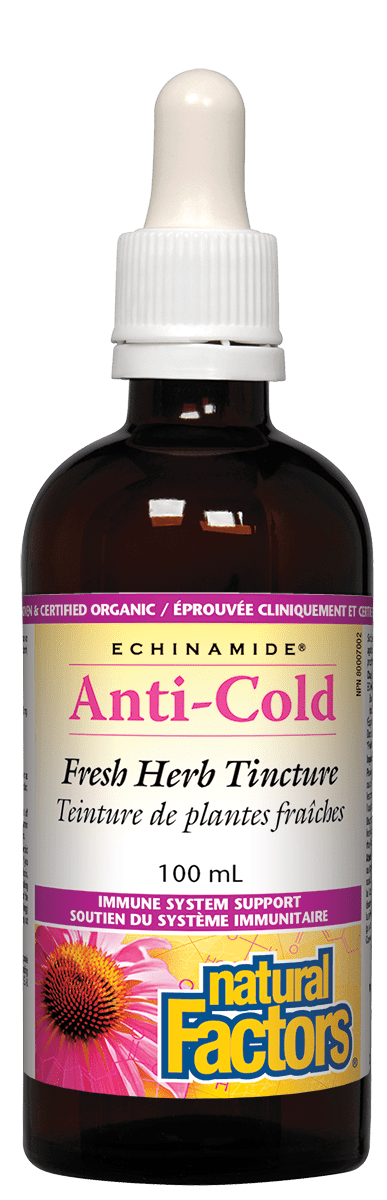 Natural Factors Anti Cold 100ml Tincture